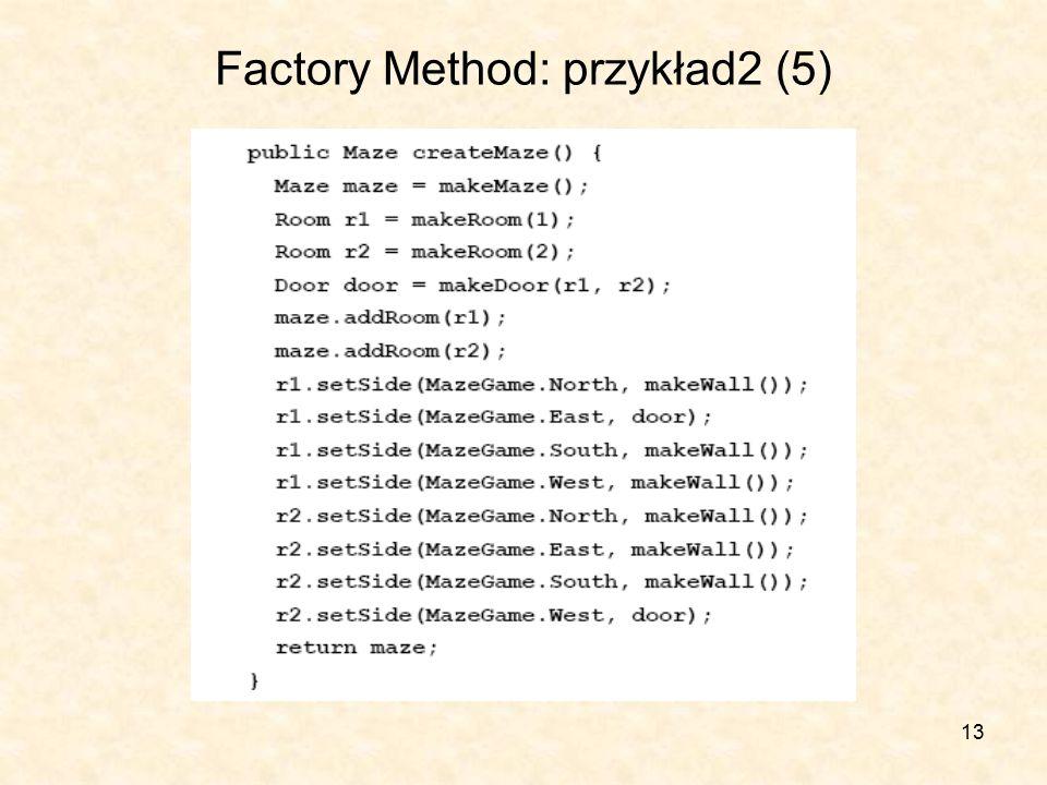 13 Factory Method: przykład2 (5)