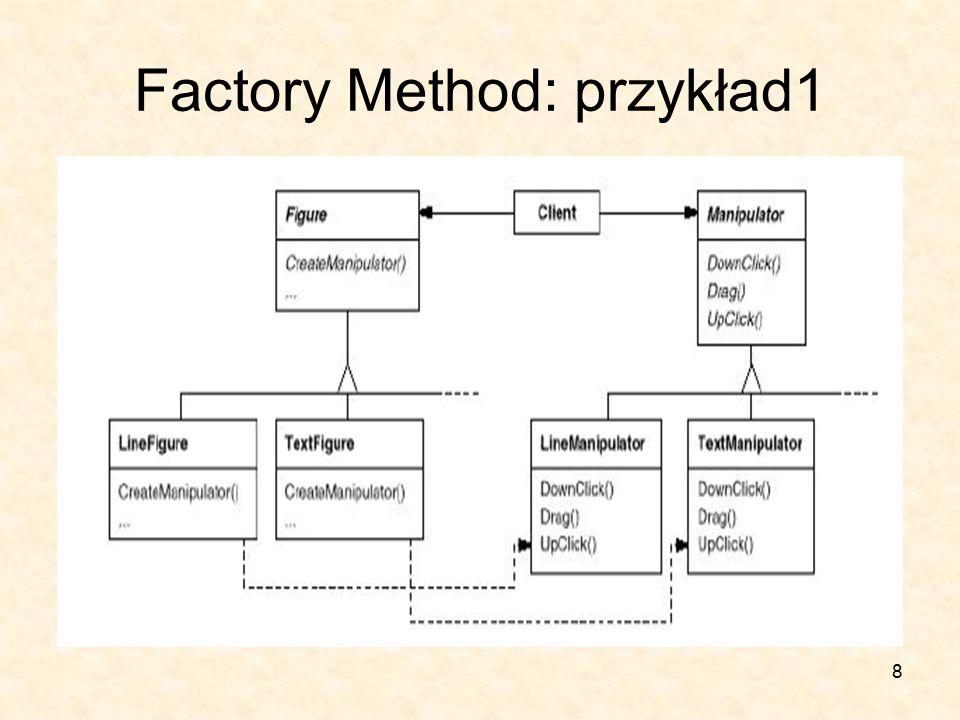 8 Factory Method: przykład1