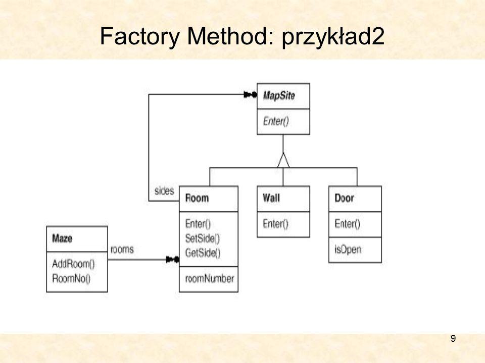 9 Factory Method: przykład2