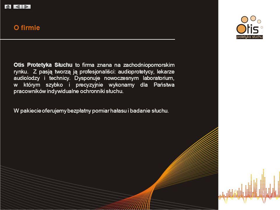 O firmie Otis Protetyka Słuchu to firma znana na zachodniopomorskim rynku. Z pasją tworzą ją profesjonaliści: audioprotetycy, lekarze audiolodzy i tec