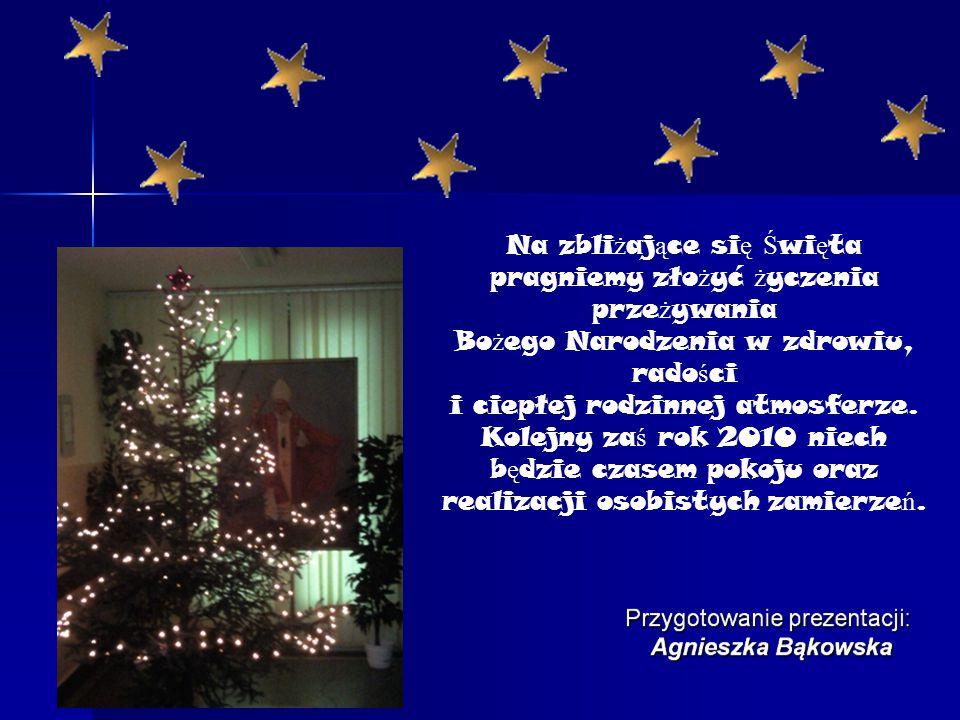 Na zbli ż aj ą ce si ę Ś wi ę ta pragniemy zło ż yć ż yczenia prze ż ywania Bo ż ego Narodzenia w zdrowiu, rado ś ci i ciepłej rodzinnej atmosferze.