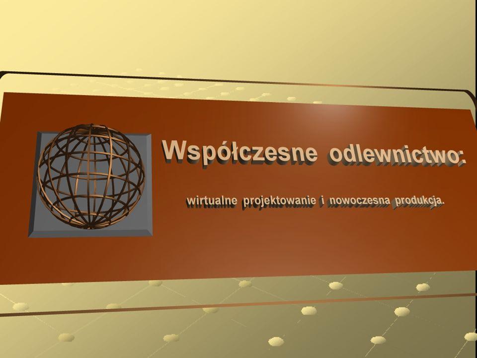 Prezentację opracowano na podstawie materiałów: - World Foundrymen Organization – Technical Forum 2003 - World Foundrymen Organization – Casting Simulation 2002 - MAGMA - Federacja Stowarzyszeń Naukowo-Technicznych – NOT
