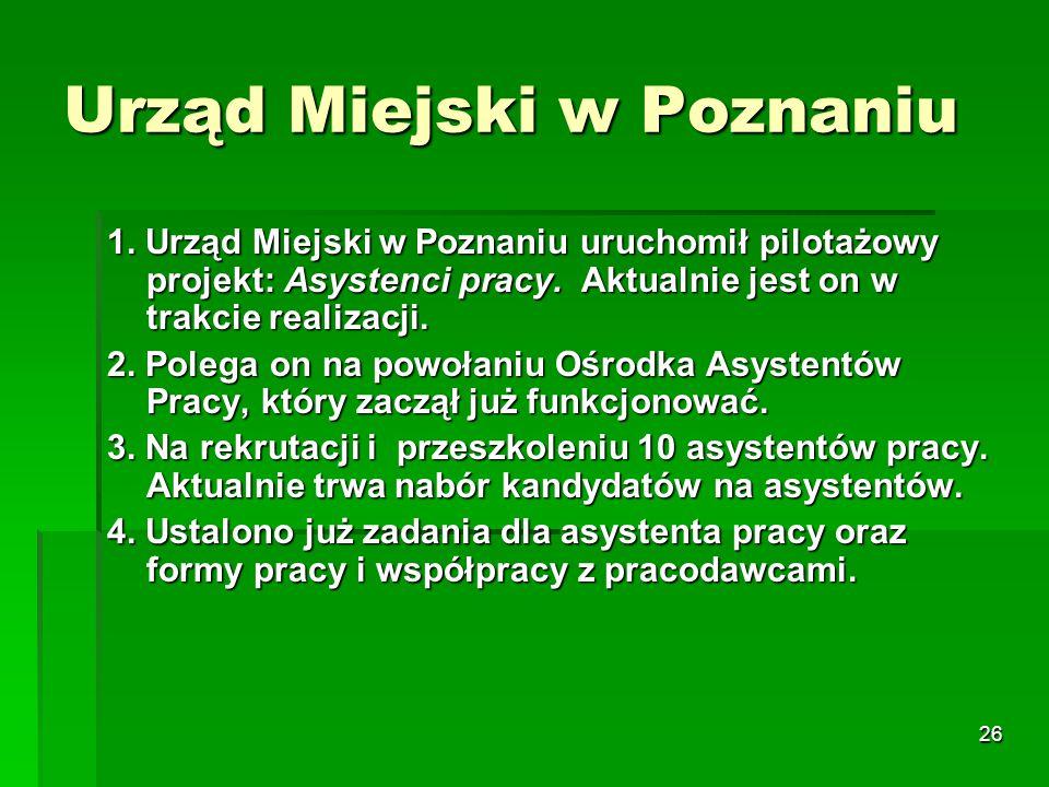 26 Urząd Miejski w Poznaniu 1.