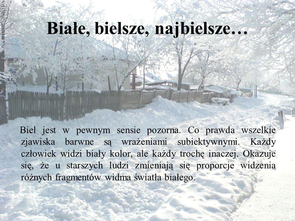 Czy to prawda, że nie ma dwóch identycznych płatków śniegu.