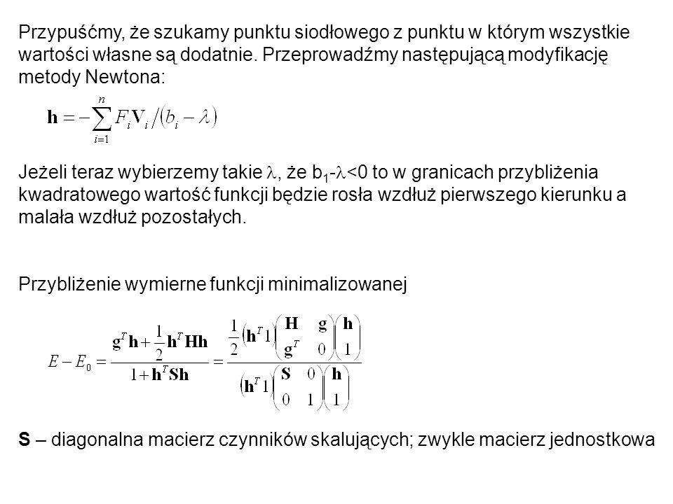 Metoda Monte Carlo z minimalizacją energii (stochastyczna).