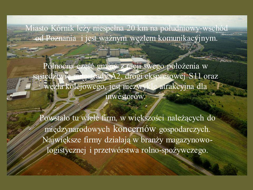 Miasto Kórnik leży niespełna 20 km na południowy-wschód od Poznania i jest ważnym węzłem komunikacyjnym.