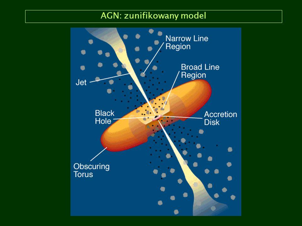 AGN: zunifikowany model