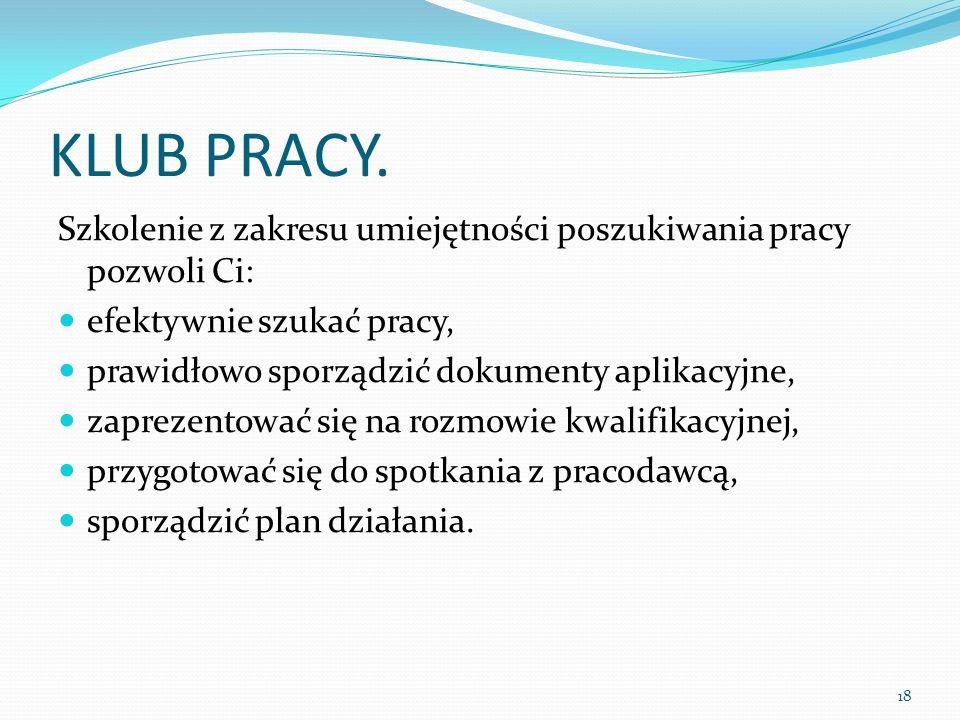 KLUB PRACY.