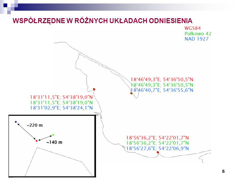 16 ELIPSOIDA ZIEMSKA Obecnie obowiązuje Geodezyjny System Odniesienia 1980 (GRS'80 –Geodetic Reference System 1980) przyjęty na XVII Zgromadzeni Generalnym Międzynarodowej Unii Geodezji i Geofizyki (IUGG) w Canberze w grudniu 1997 roku.