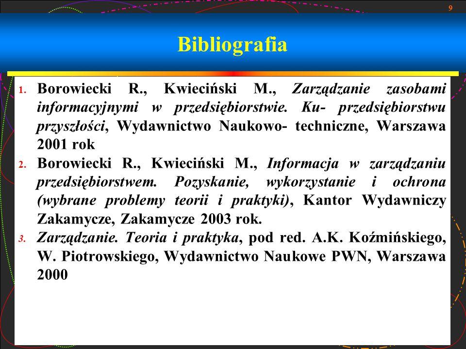 9 Bibliografia 1.