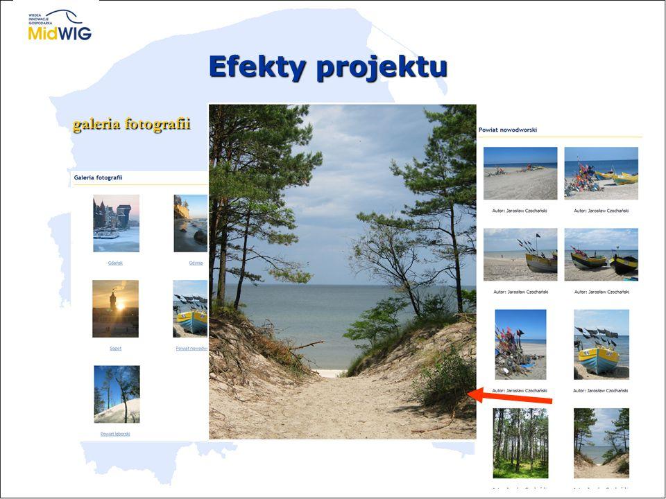 Efekty projektu galeria fotografii
