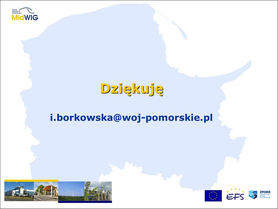 Dziękuję Dziękuję i.borkowska@woj-pomorskie.pl