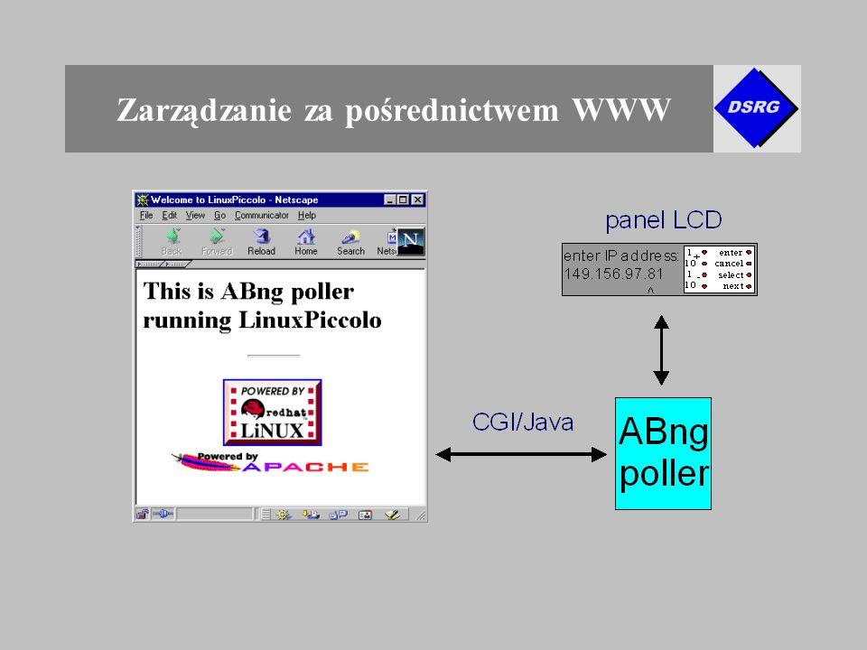 Zarządzanie za pośrednictwem WWW