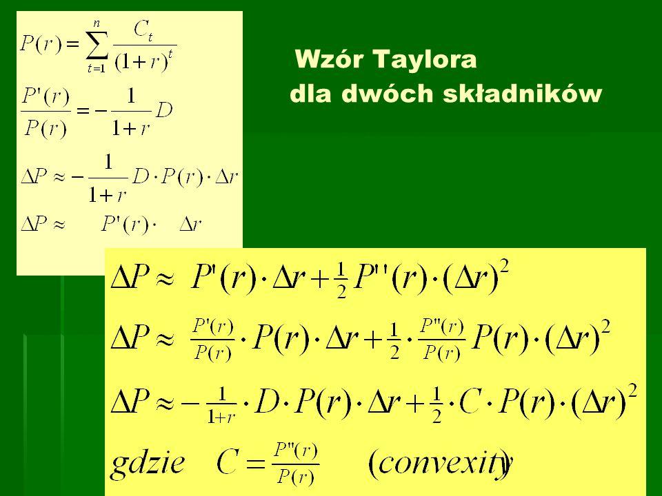 Wzór Taylora dla dwóch składników