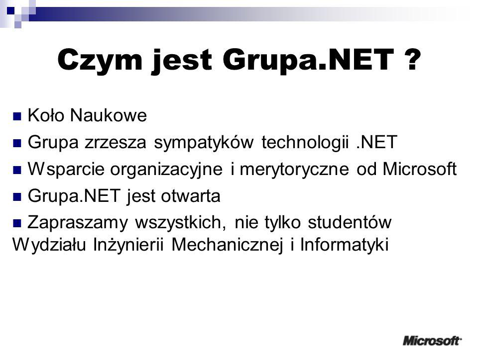 Czym jest Grupa.NET .