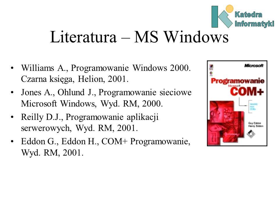 Oprogramowanie warstwy pośredniej (middleware) Jądro Maszyna A Jądro Maszyna B Jądro Maszyna C Sieć Aplikacje rozproszone Usługi sieciowego systemu operacyjnego Warstwa pośrednia oprogramowania