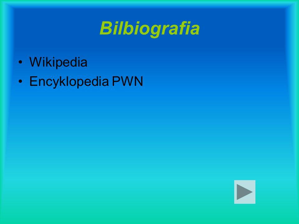 Bilbiografia Wikipedia Encyklopedia PWN