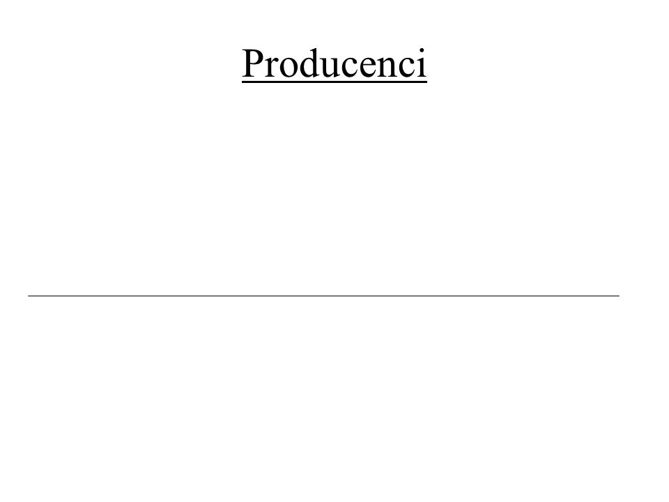 Producenci