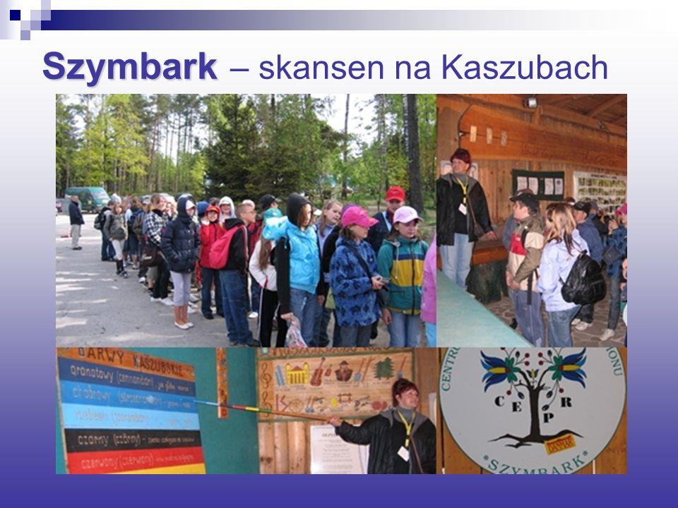 Szymbark Szymbark – skansen na Kaszubach