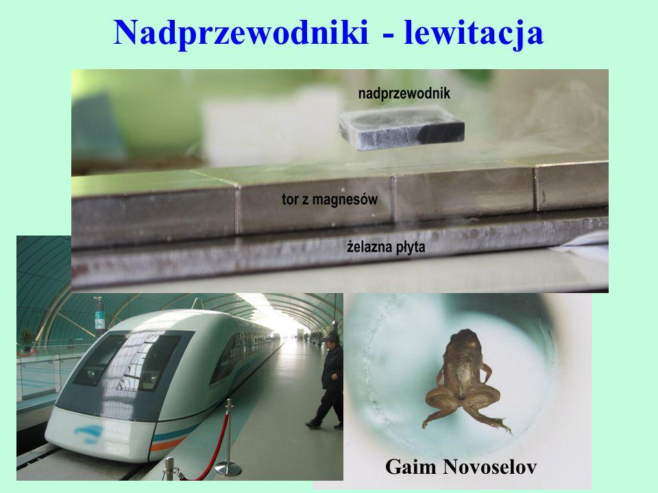 Nadprzewodniki - lewitacja Gaim Novoselov