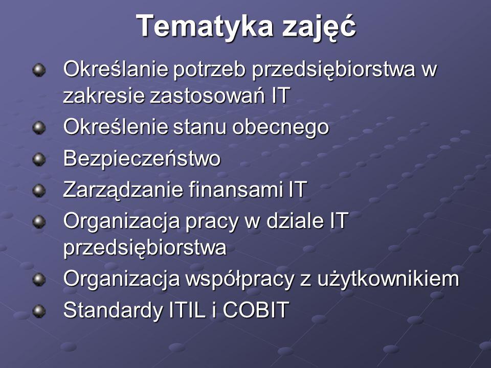 LITERATURA Kisielnicki J., Sroka H.: Systemy informacyjne biznesu.