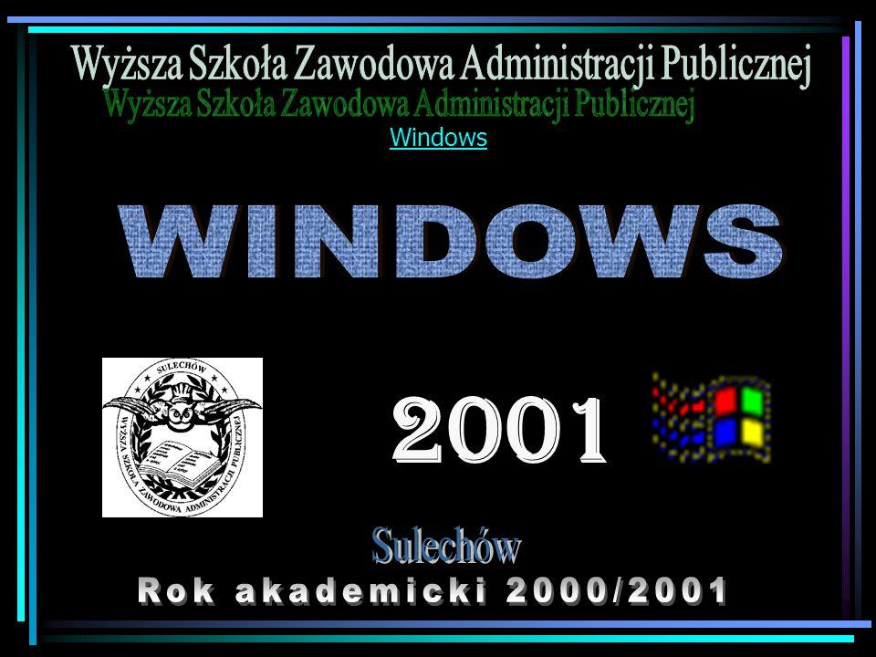 Pasek zadań Pasek zadań umieszczony z reguły u dołu ekranu zawiera ikony i przyciski reprezentujące wszystkie otwarte w danej chwili okna i programy.