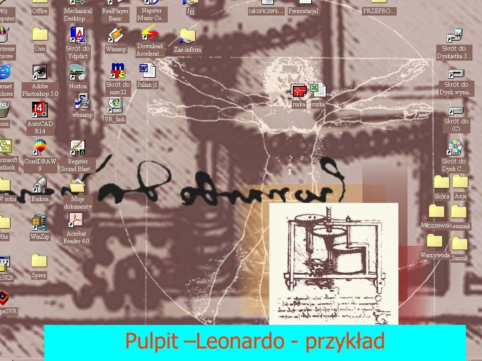 Pulpit –Leonardo - przykład