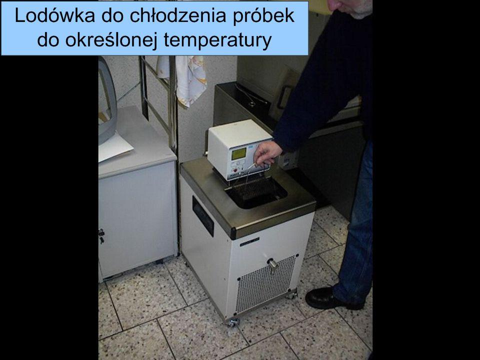 Metrotest Sp. z o. o. Próby przeprowadzane dla niskich temperatur odbywają się poprzez schłodzenie próbki do odpowiedniej temperatury Dla temperatury