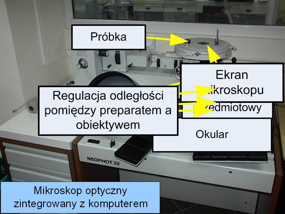 Laboratorium BIMET Badania mikroskopowe Stanowisko do badań mikroskopowych zintegrowane z komputerem Stanowisko do badań mikroskopowych (mikroskop optyczny)