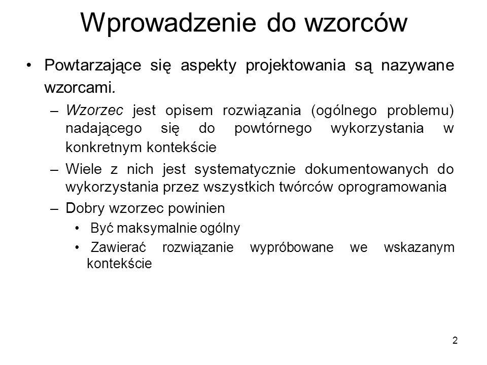 23 Read-only Interface Przykład: Mutableperson firstName lastName setFirstName setLastName getName «interface» Person getName