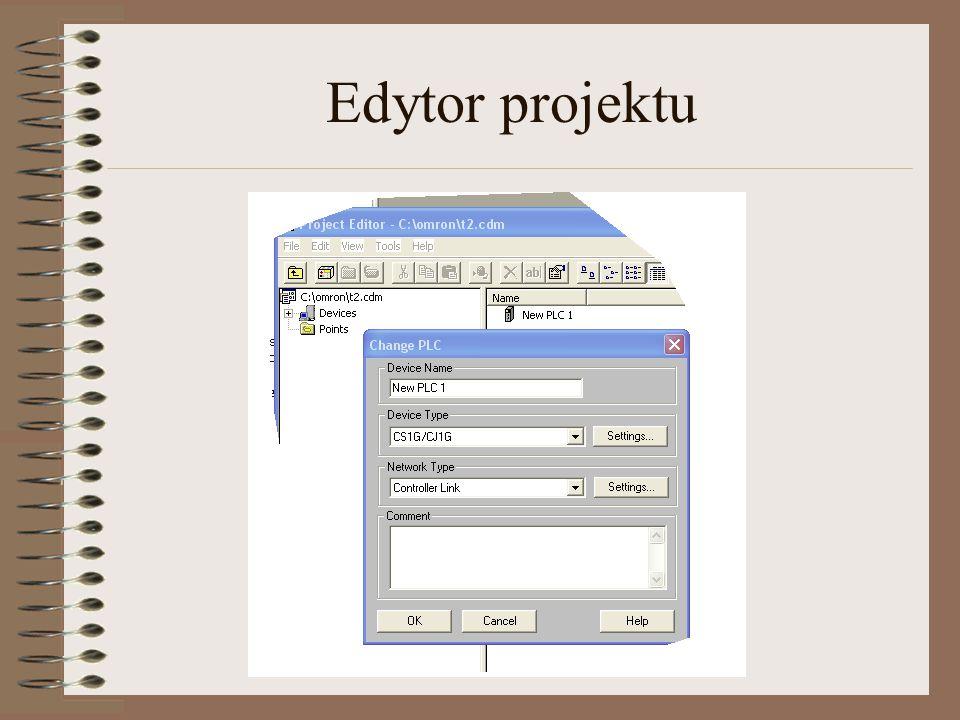 admin@plcs.pl Edytor projektu