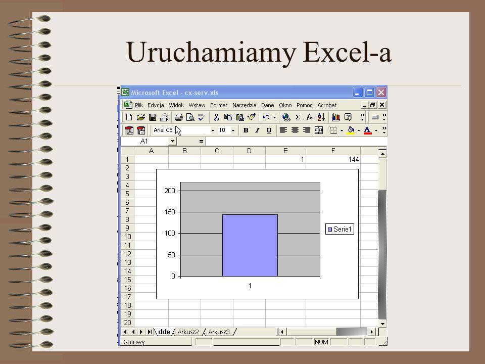admin@plcs.pl Uruchamiamy Excel-a