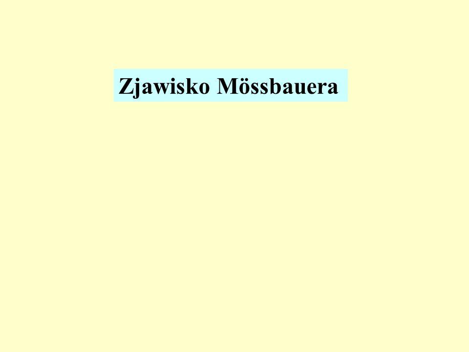 Zjawisko Mössbauera