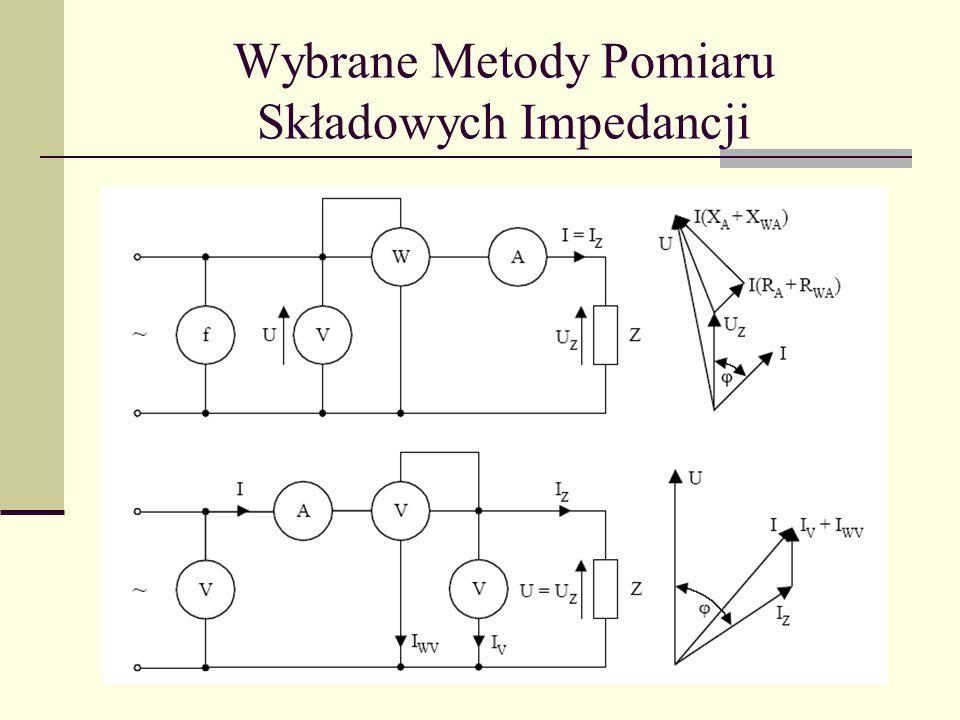 Wybrane Metody Pomiaru Składowych Impedancji