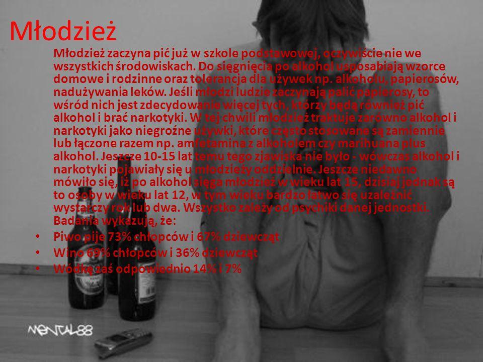 Problem społeczny Według doktora Marka Staniszka Nadużywanie alkoholu staje się coraz większym problemem i wyraźnie zmienia swoje oblicze. Zwiększa si