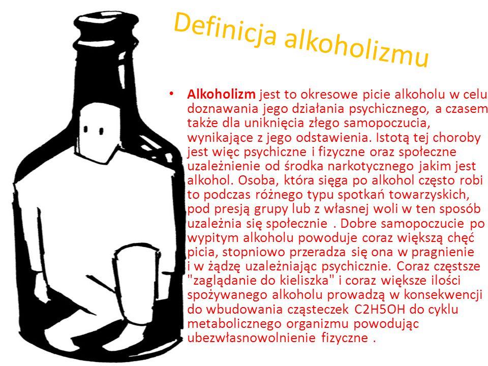 """Alkoholizm- choroba społeczna. Tomasz Warunek kl. II """"e"""""""