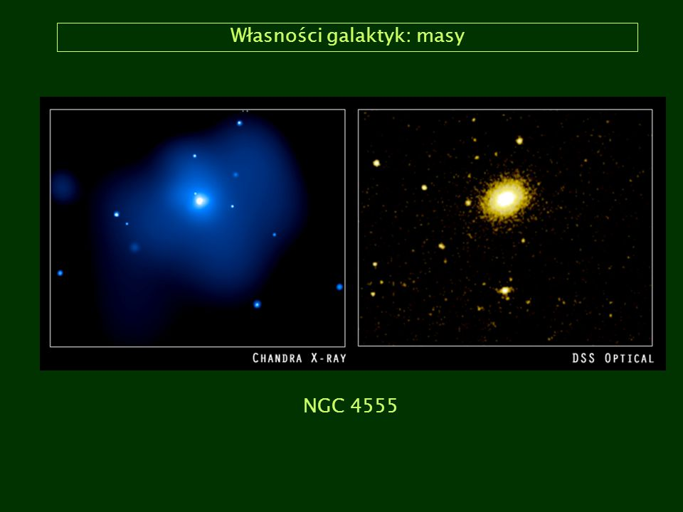 Własności galaktyk: masy NGC 4555