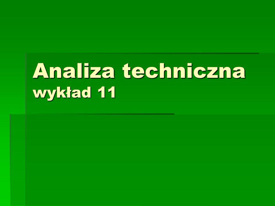 Analiza techniczna wykład 11