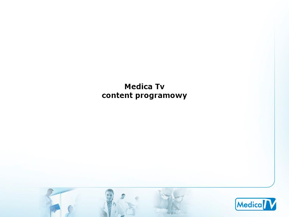 Medica Tv content programowy