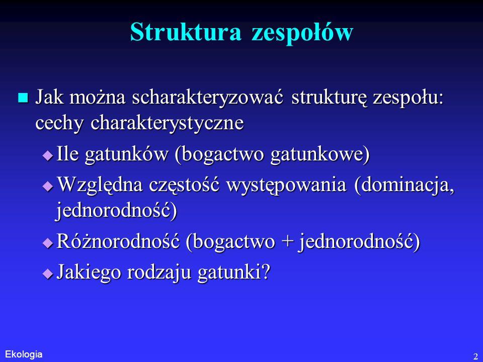 Ekologia 23 Równowaga neutralna, niestabilna, stabilna