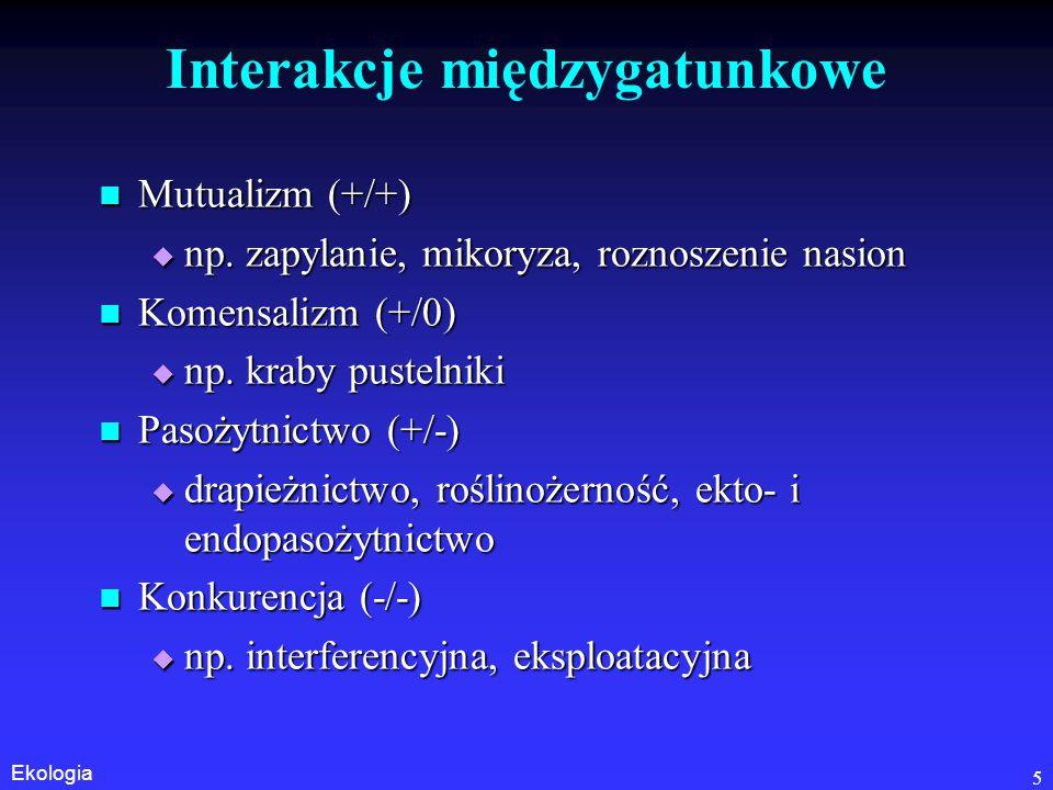 """Ekologia 16 Skąd """"łaciatość zespołów."""