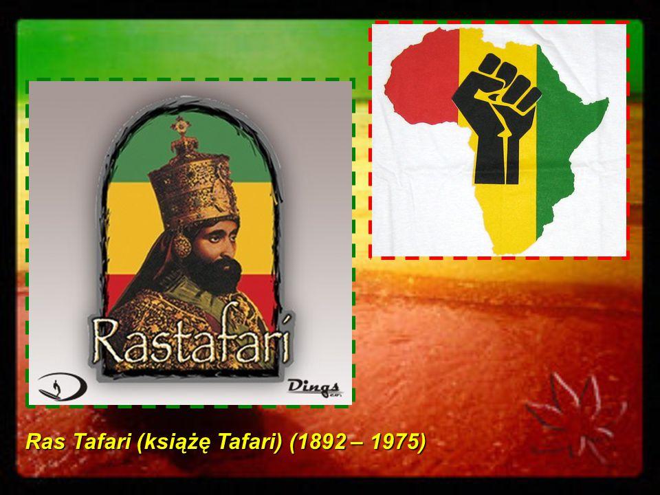 RASTAFARIANIZM – WIARA I KULTURA Religia Rastafarian jest niepowtarzalna, Jej afryka ń skie korzenie ucz ą miło ś ci i jedno ś ci.