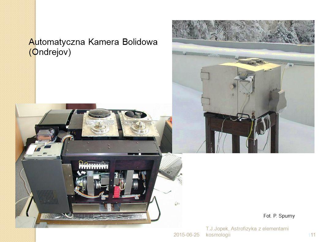 11 Automatyczna Kamera Bolidowa (Ondrejov) Fot. P. Spurny 2015-06-25 T.J.Jopek, Astrofizyka z elementami kosmologii11