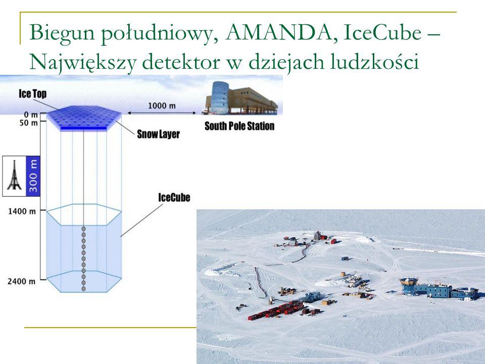 IceCube Czyli wcale nie o muzyku a o teleskopie neutrinowym