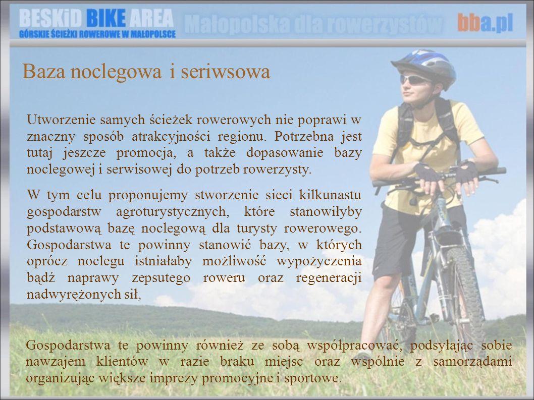 Utworzenie samych ścieżek rowerowych nie poprawi w znaczny sposób atrakcyjności regionu. Potrzebna jest tutaj jeszcze promocja, a także dopasowanie ba