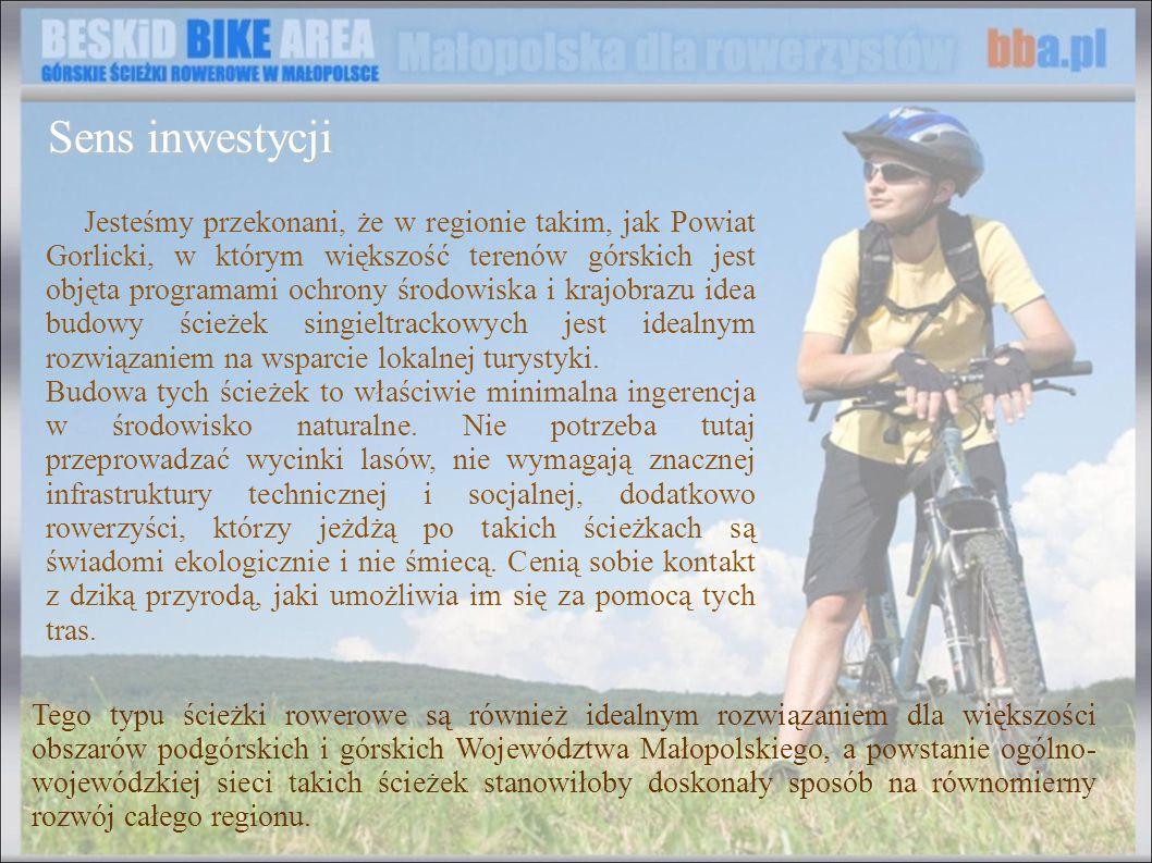 Jesteśmy przekonani, że w regionie takim, jak Powiat Gorlicki, w którym większość terenów górskich jest objęta programami ochrony środowiska i krajobr