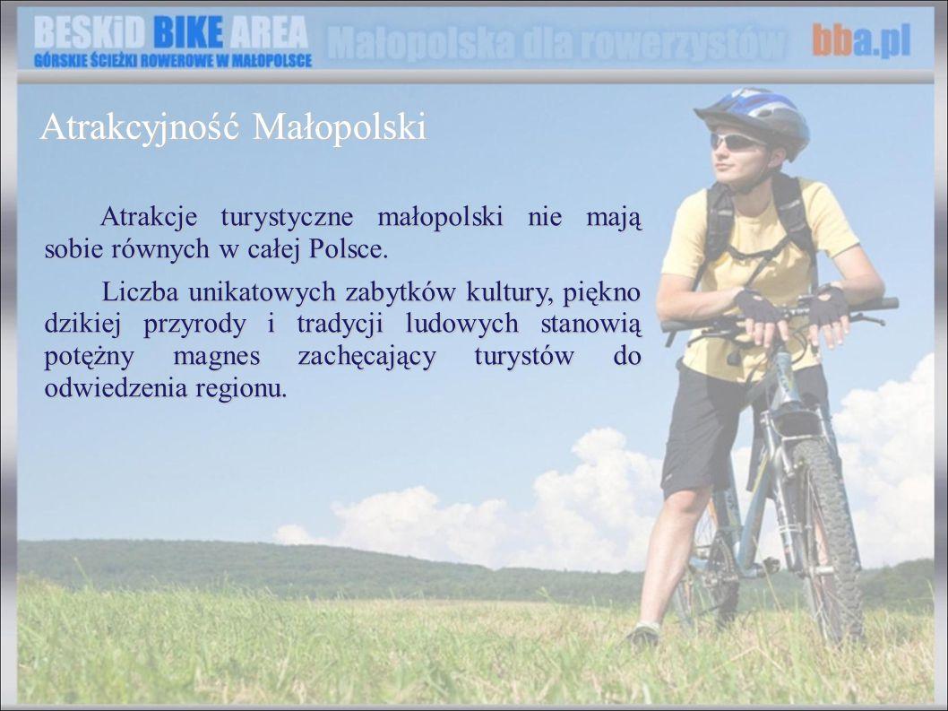 Atrakcje turystyczne małopolski nie mają sobie równych w całej Polsce. Atrakcje turystyczne małopolski nie mają sobie równych w całej Polsce. Liczba u