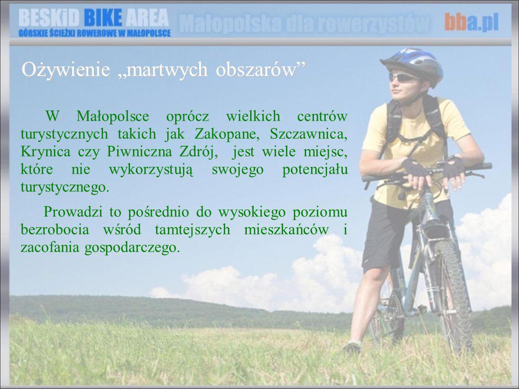 W Małopolsce oprócz wielkich centrów turystycznych takich jak Zakopane, Szczawnica, Krynica czy Piwniczna Zdrój, jest wiele miejsc, które nie wykorzys