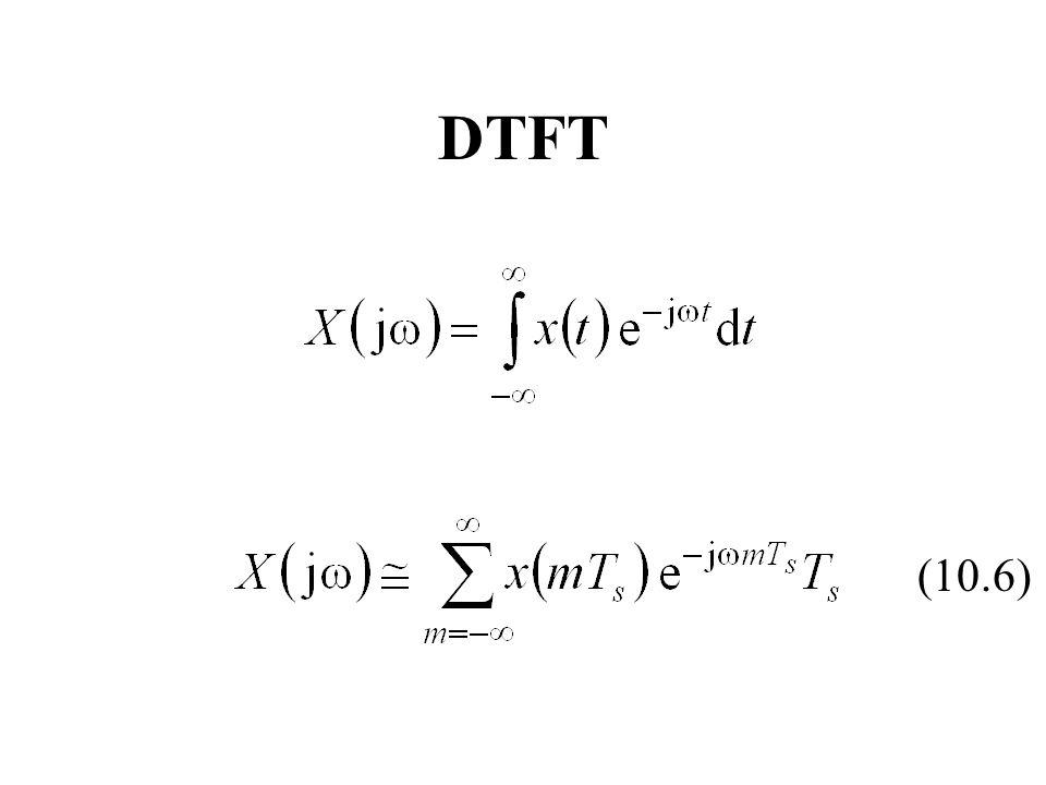 DTFT (10.6)