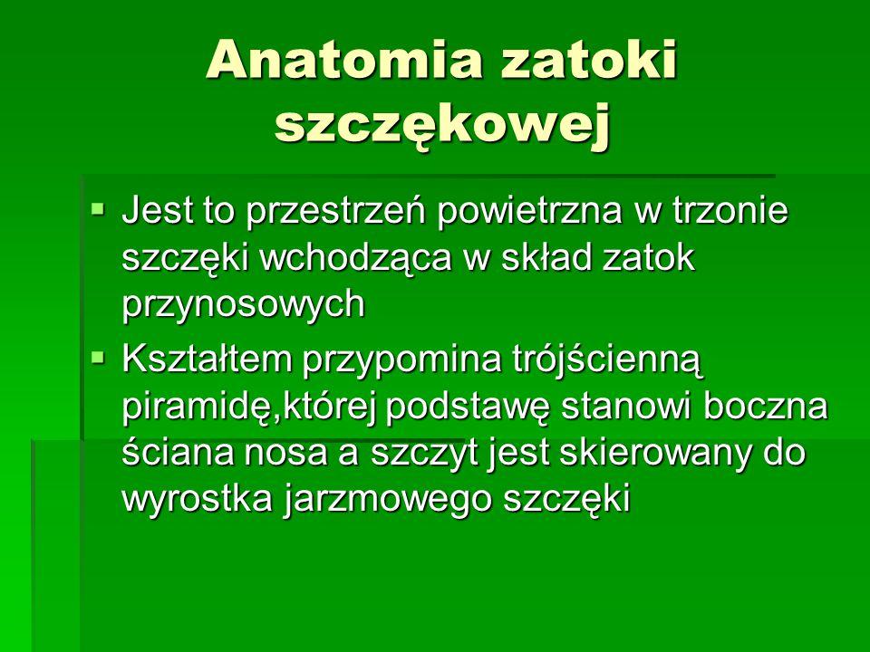 Metoda Zangego  Polega na pokryciu zatoki dwoma odwróconymi płatami śluzówkowo- okostnowymi utworzonymi od strony policzkowej i podniebiennej.